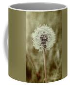 Dandelion Textures Coffee Mug