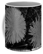 Dandelion Weeds? B/w Coffee Mug