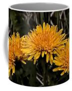 Dandelions In Group  By Leif Sohlman Coffee Mug