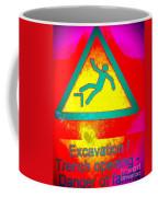 Danger Of Falling Coffee Mug