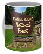 Daniel Boone Coffee Mug by Frozen in Time Fine Art Photography