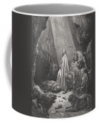 Daniel In The Den Of Lions Coffee Mug
