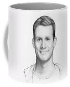 Daniel Tosh Coffee Mug by Olga Shvartsur