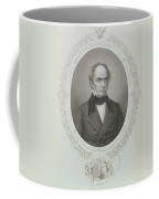 Daniel Webster, From The History Of The United States, Vol. II, By Charles Mackay, Engraved By T Coffee Mug