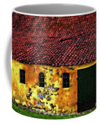Danish Barn Impasto Version Coffee Mug by Steve Harrington