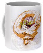 Danish Pastry Ring With Pecan Filling Coffee Mug