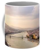 Danube Sunset Coffee Mug