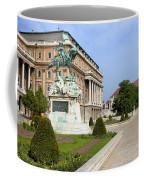 Danube Terrace At Buda Castle In Budapest Coffee Mug