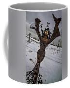 Daphene Sculpture On A Winter Day Coffee Mug