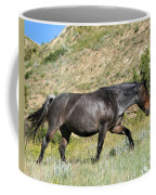 Dark And Wild Horse Coffee Mug by Sabrina L Ryan