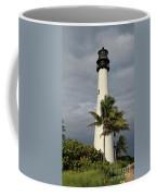 Dark Clouds Over Cape Florida Coffee Mug