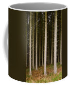 Dark Forest At Kielder Coffee Mug