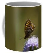 Dark Green Fritillary Coffee Mug