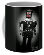 Dark Metal Robot Oil Coffee Mug