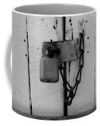Dark Padlocked Coffee Mug