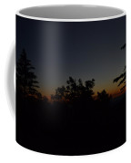 Dark San Jacinto Sunset Coffee Mug