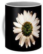 Dark Side Of A Daisy Square Fractal Coffee Mug