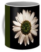 Dark Side Of A Daisy Square Coffee Mug
