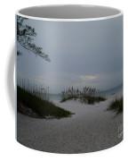 Dark Skies Over The Beach Coffee Mug