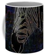Dark Zebra Coffee Mug