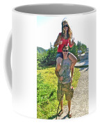 Couple From Saskatchewan On Skyline Trail In Cape Breton Highlands National Park-nova Scotia-canada  Coffee Mug