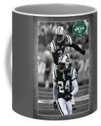 Darrelle Revis Jets Coffee Mug
