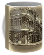 Dashing In Red - Sepia Coffee Mug