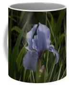 Dashing Pale Violet Iris Coffee Mug