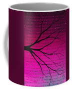Dave Matthews Band Crush Lyric Art - Pink Coffee Mug