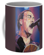 Dave Matthews Colorful Full Band Series Coffee Mug by Joshua Morton