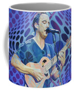 Dave Matthews-op Art Series Coffee Mug