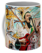 Dave Matthews Shotgun Coffee Mug by Joshua Morton