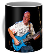 Dave Pegg Bass Player For Fairport Convention And Jethro Tull Coffee Mug