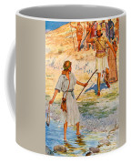 David And Goliath Coffee Mug by William Henry Margetson