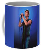 David Bowie 2 Painting Coffee Mug by Paul Meijering