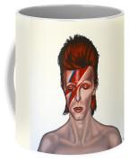 David Bowie Aladdin Sane Coffee Mug by Paul Meijering