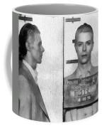 David Bowie Mug Shot Coffee Mug