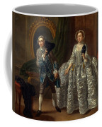 David Garrick And Mrs. Pritchard In Benjamin Hoadley's The Suspicious Husband  Coffee Mug