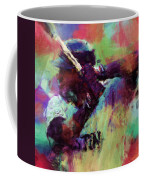 David Ortiz Abstract Coffee Mug