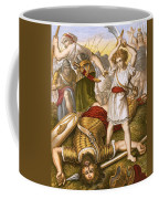 David Slaying Goliath Coffee Mug