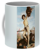David Victorious Over Goliath Coffee Mug