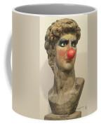 David With Makeup And Clown Nose 1 Coffee Mug
