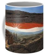 Dawn At Mesa Arch Canyonlands Utah Coffee Mug