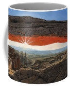 Dawn At Mesa Arch Canyonlands Utah Coffee Mug