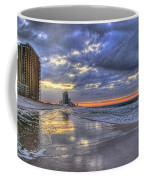 Dawn At The Cottages Of Romar Coffee Mug