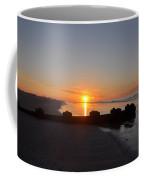 Dawn By The Ocean Coffee Mug