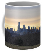Dawn In Philadelphia Coffee Mug