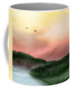 Dawn On The Lake Coffee Mug