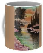 Dawn Snow On A Sunny Morning Coffee Mug