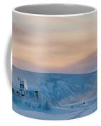 Dawson City Ice Bridge Coffee Mug by Priska Wettstein
